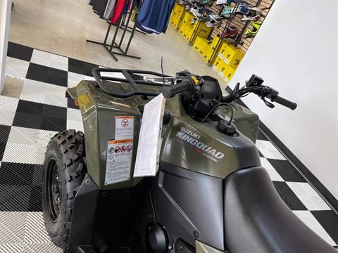 2019 Suzuki KingQuad 400ASi Camo in Herkimer, New York - Photo 22