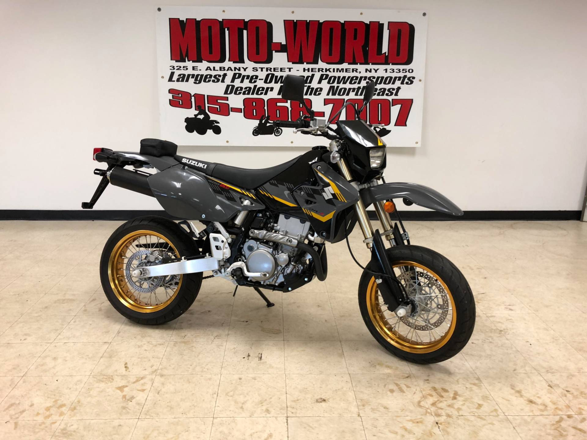Used 2016 Suzuki Dr Z400sm Motorcycles In Herkimer Ny Stock Street Legal Dirt Bikes New York