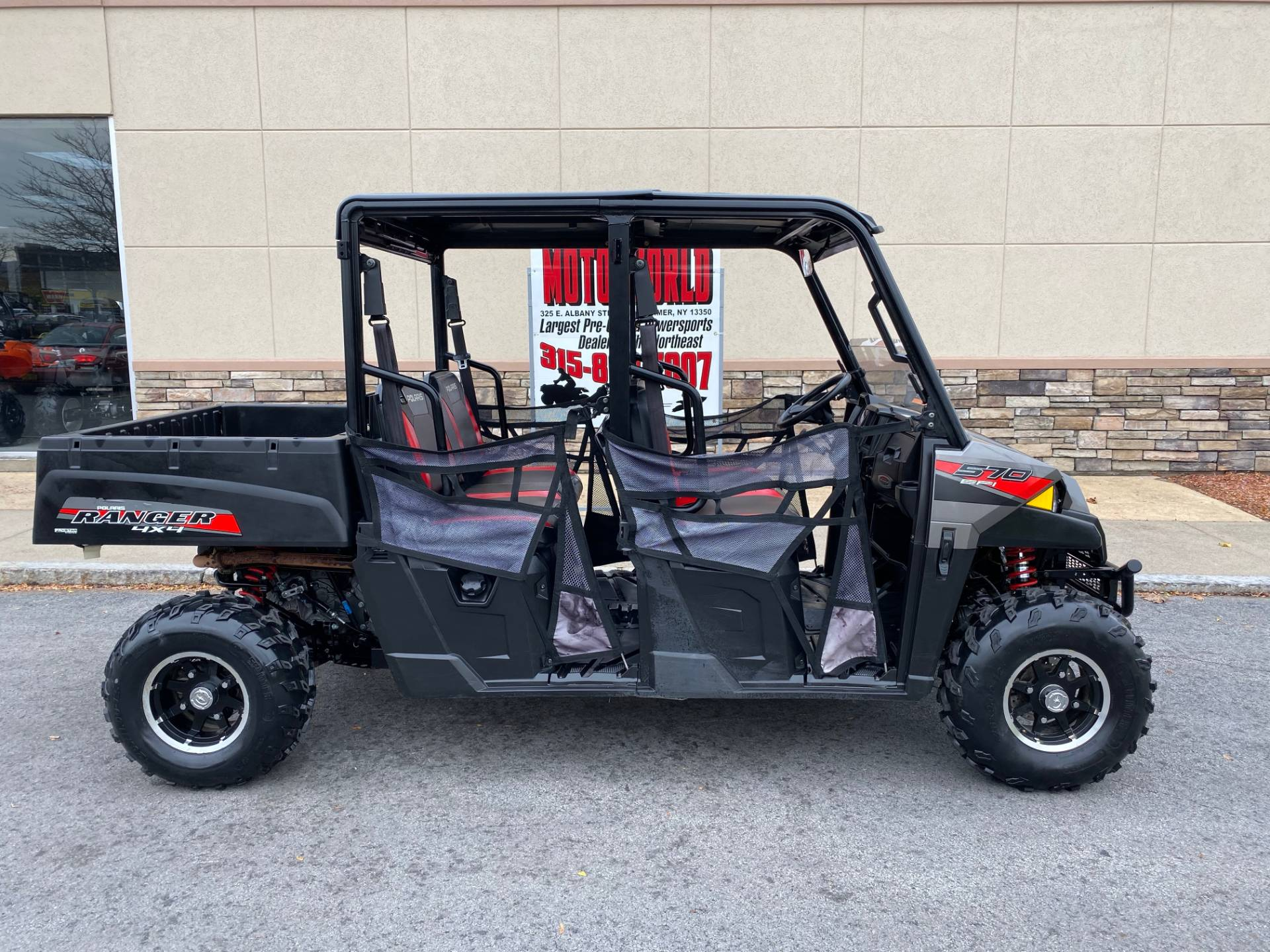 2017 Polaris Ranger Crew 570-4 EPS in Herkimer, New York - Photo 1