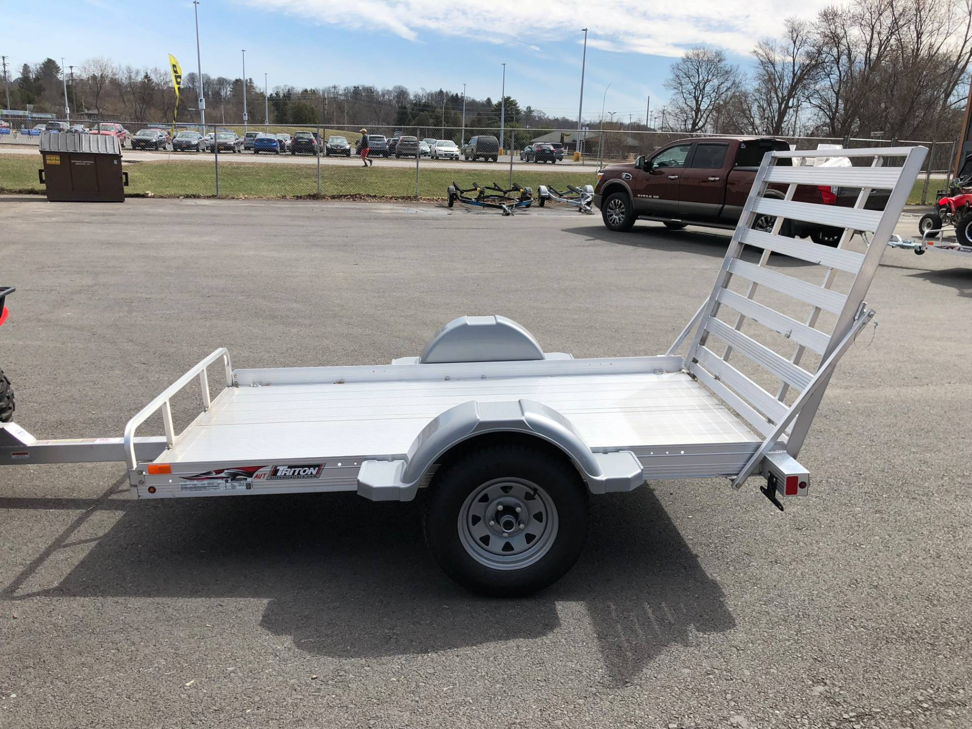 2018 Triton Trailers AUT853 in Herkimer, New York
