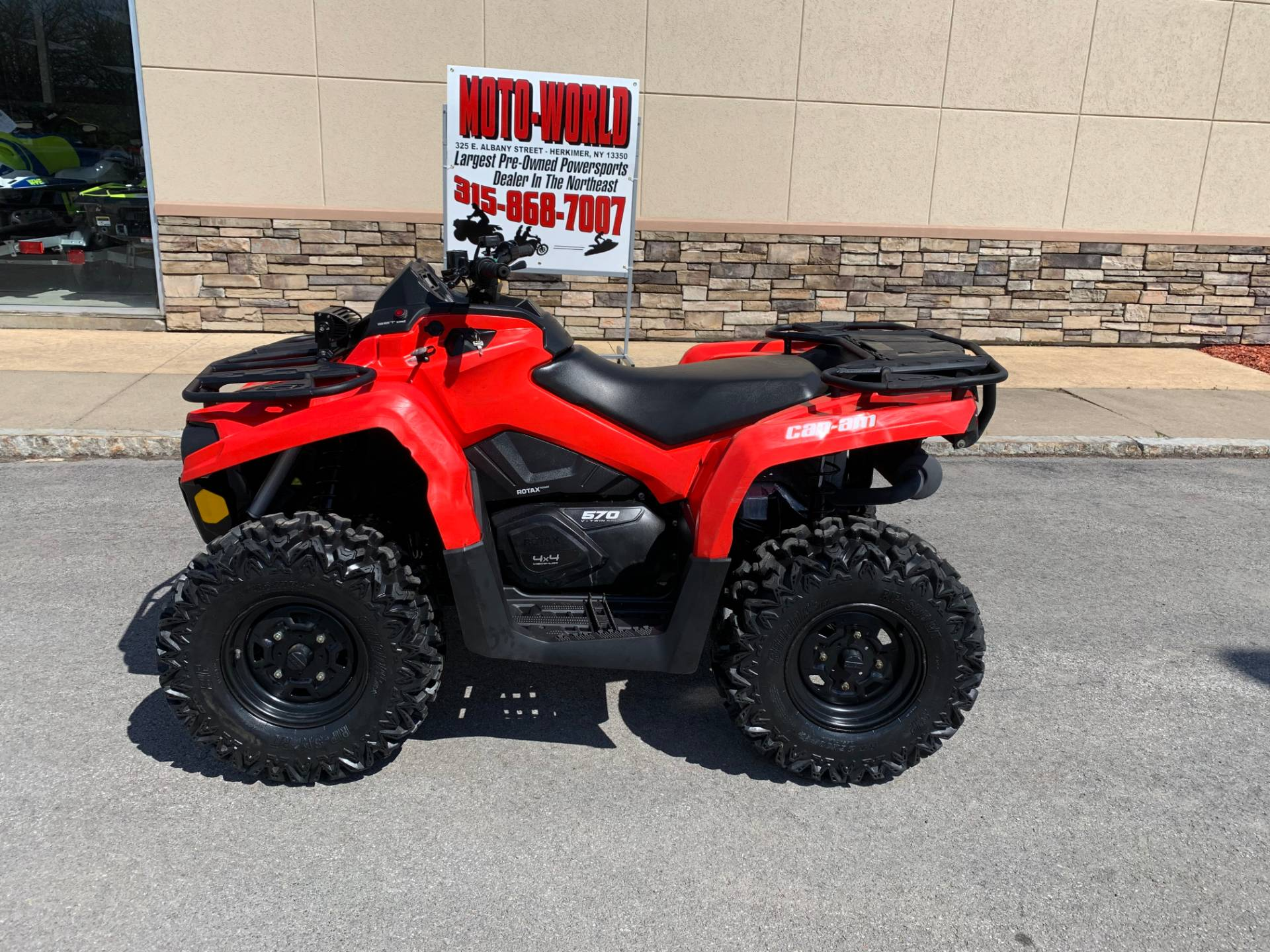 2016 Can Am Outlander L 570 In Herkimer New York