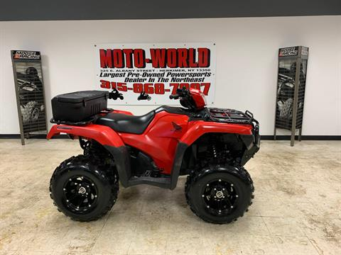 2017 Honda FourTrax Foreman Rubicon 4x4 EPS in Herkimer, New York
