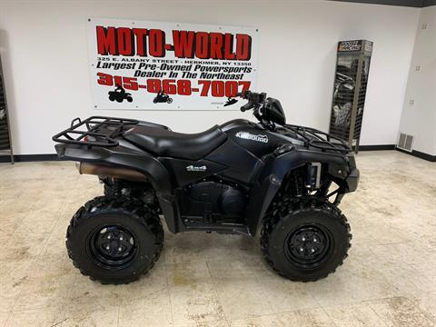 2018 Suzuki KingQuad 500AXi Power Steering Special Edition in Herkimer, New York