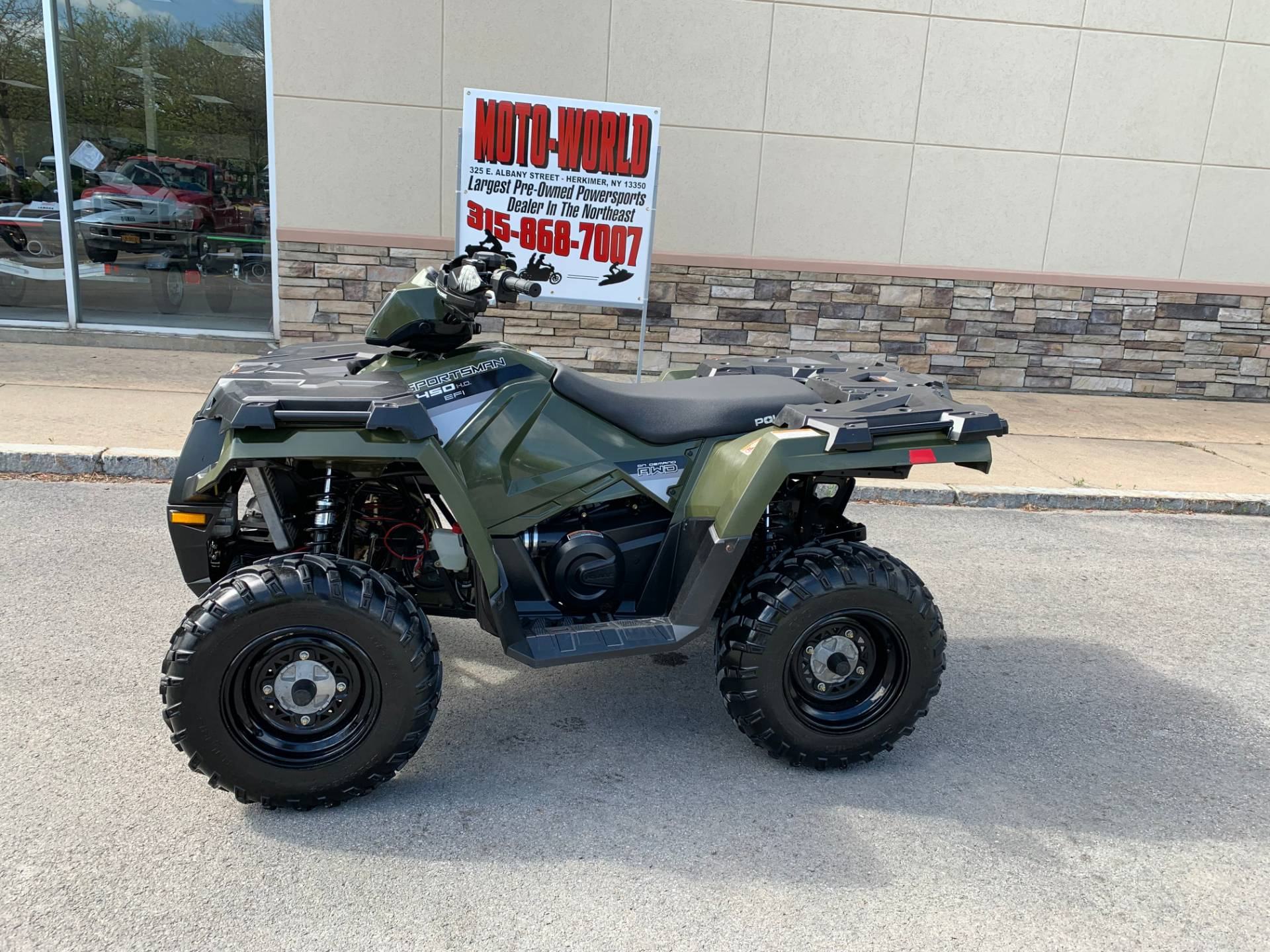 2016 Polaris Sportsman 450 H O In Herkimer New York Photo 1
