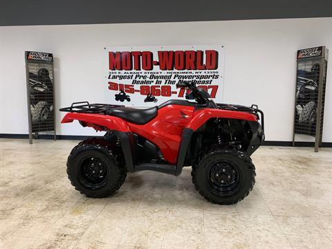 2017 Honda FourTrax Rancher 4x4 in Herkimer, New York