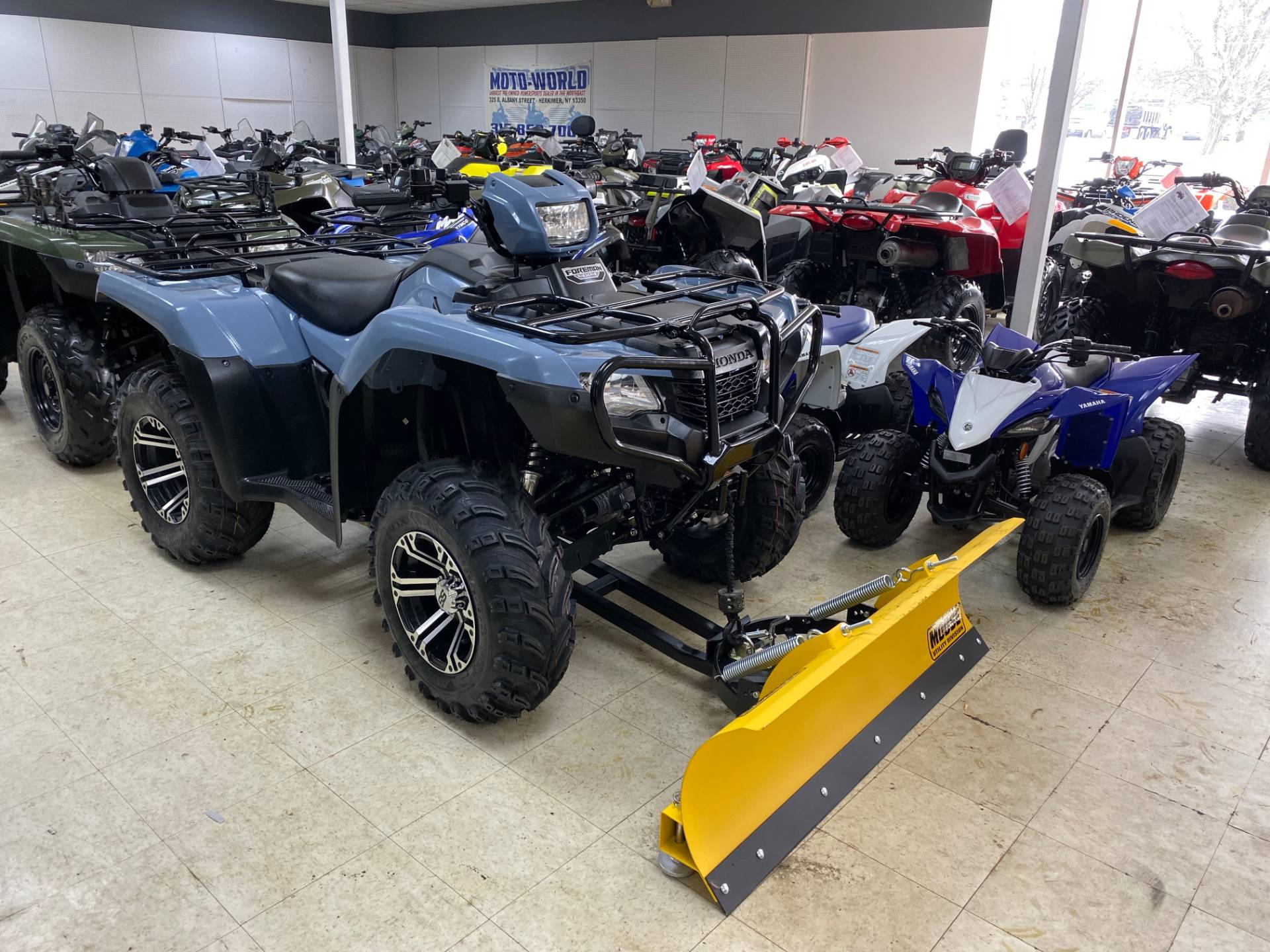 2018 Honda FourTrax Foreman 4x4 in Herkimer, New York - Photo 1