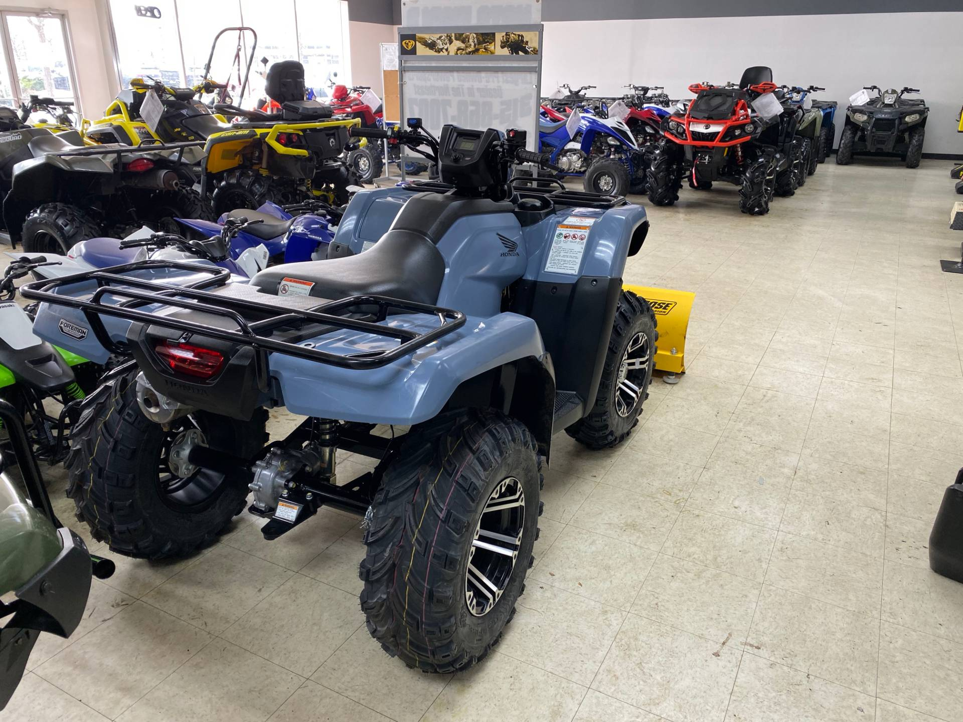 2018 Honda FourTrax Foreman 4x4 in Herkimer, New York - Photo 3