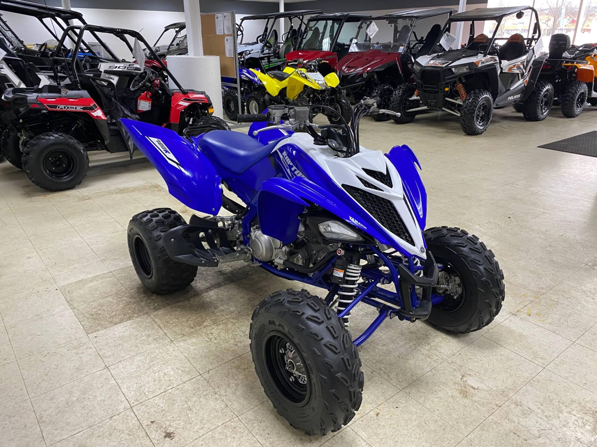 2018 Yamaha Raptor 700R 9