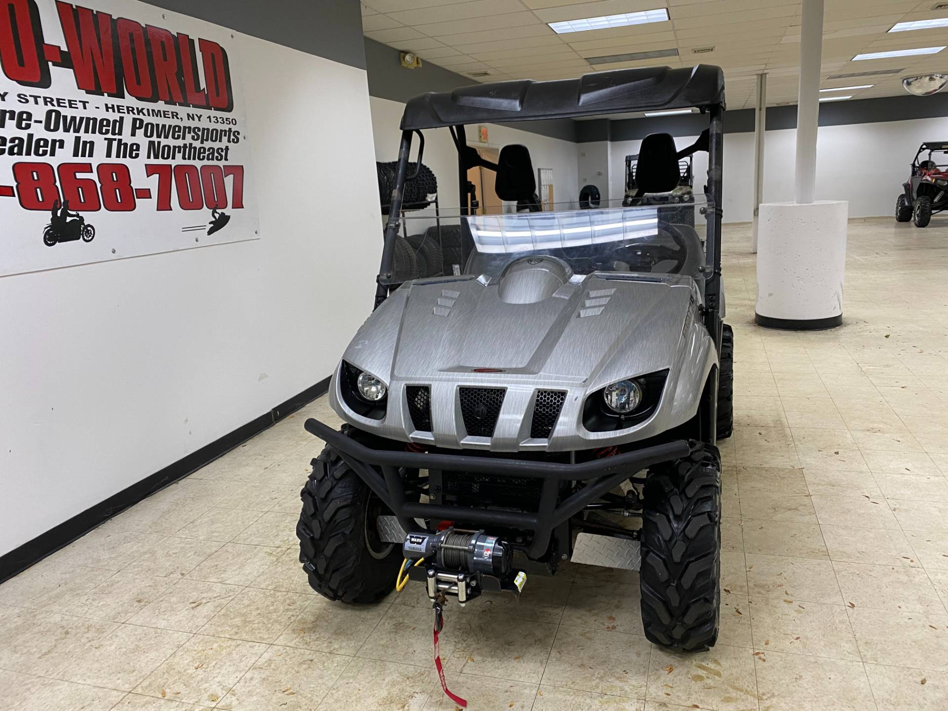 2008 Yamaha Rhino 700 FI Auto. 4x4 Sport Edition in Herkimer, New York - Photo 5