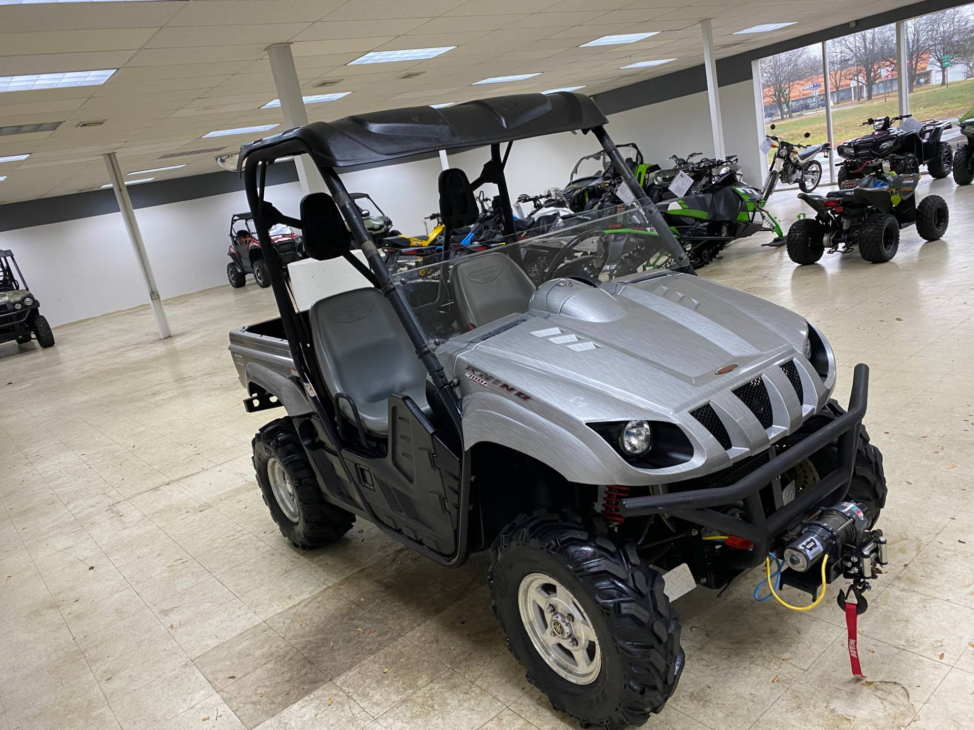 2008 Yamaha Rhino 700 FI Auto. 4x4 Sport Edition in Herkimer, New York - Photo 6