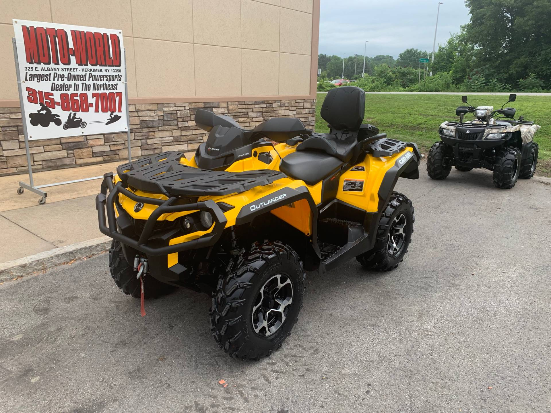 2016 Can-Am Outlander MAX XT 570 in Herkimer, New York - Photo 9