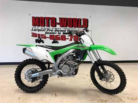 2017 Kawasaki KX450F in Herkimer, New York