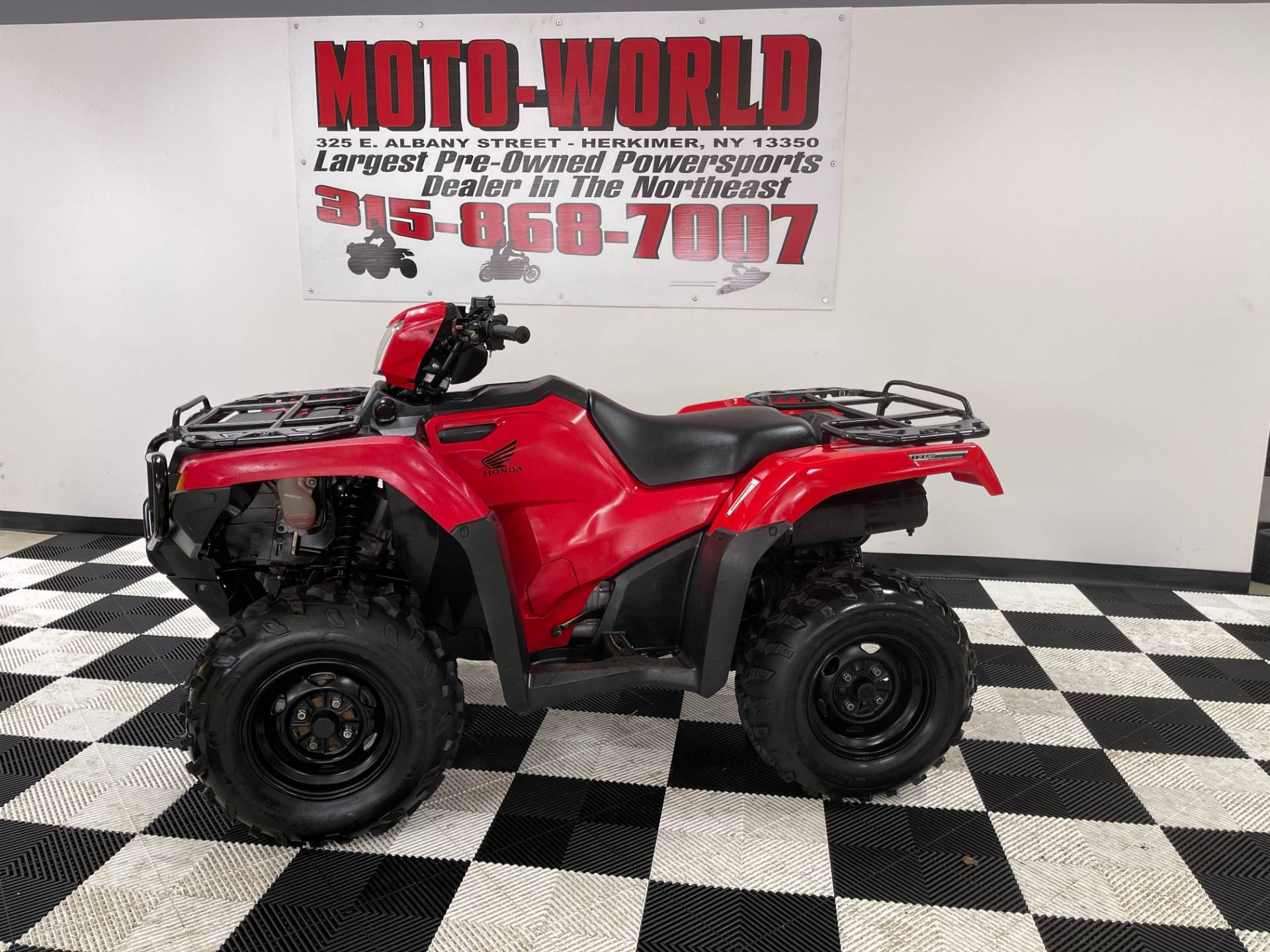 2015 Honda FourTrax® Foreman® Rubicon® 4x4 EPS in Herkimer, New York - Photo 1