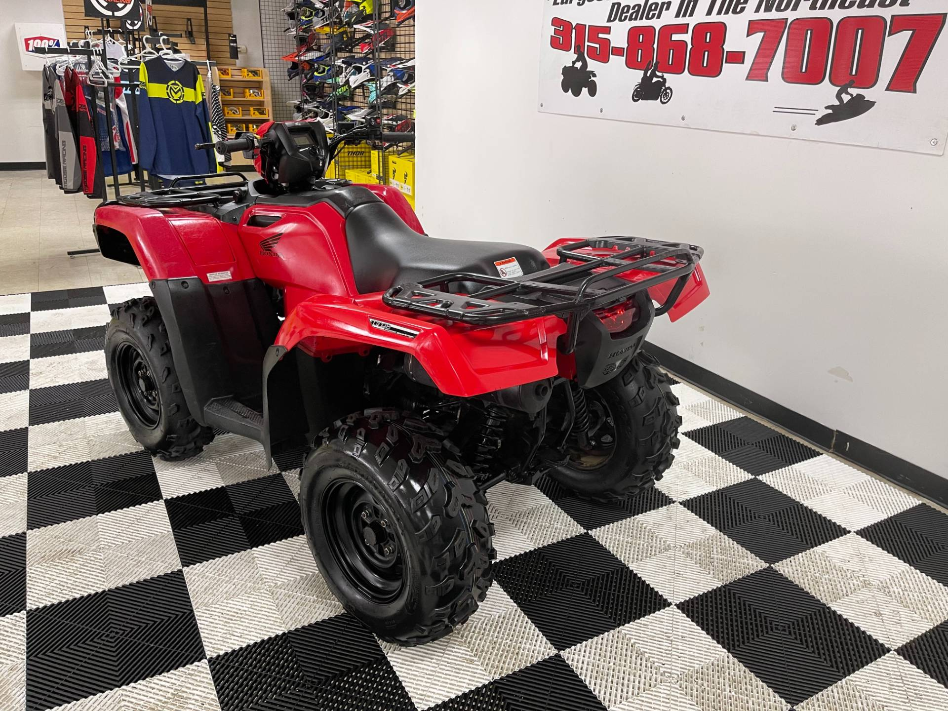 2015 Honda FourTrax® Foreman® Rubicon® 4x4 EPS in Herkimer, New York - Photo 7