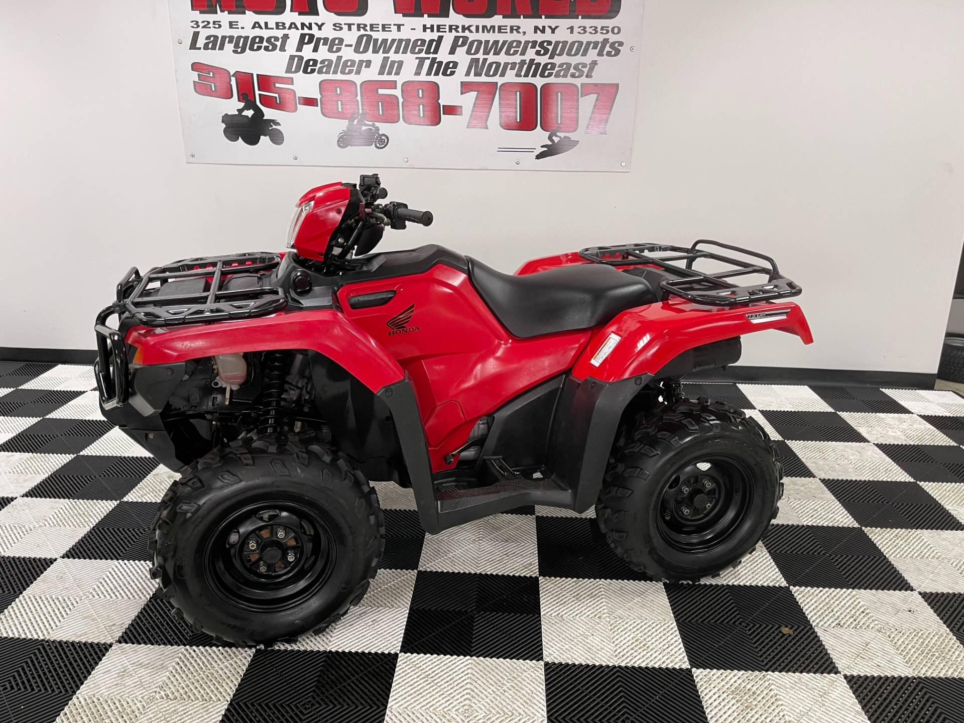 2015 Honda FourTrax® Foreman® Rubicon® 4x4 EPS in Herkimer, New York - Photo 10