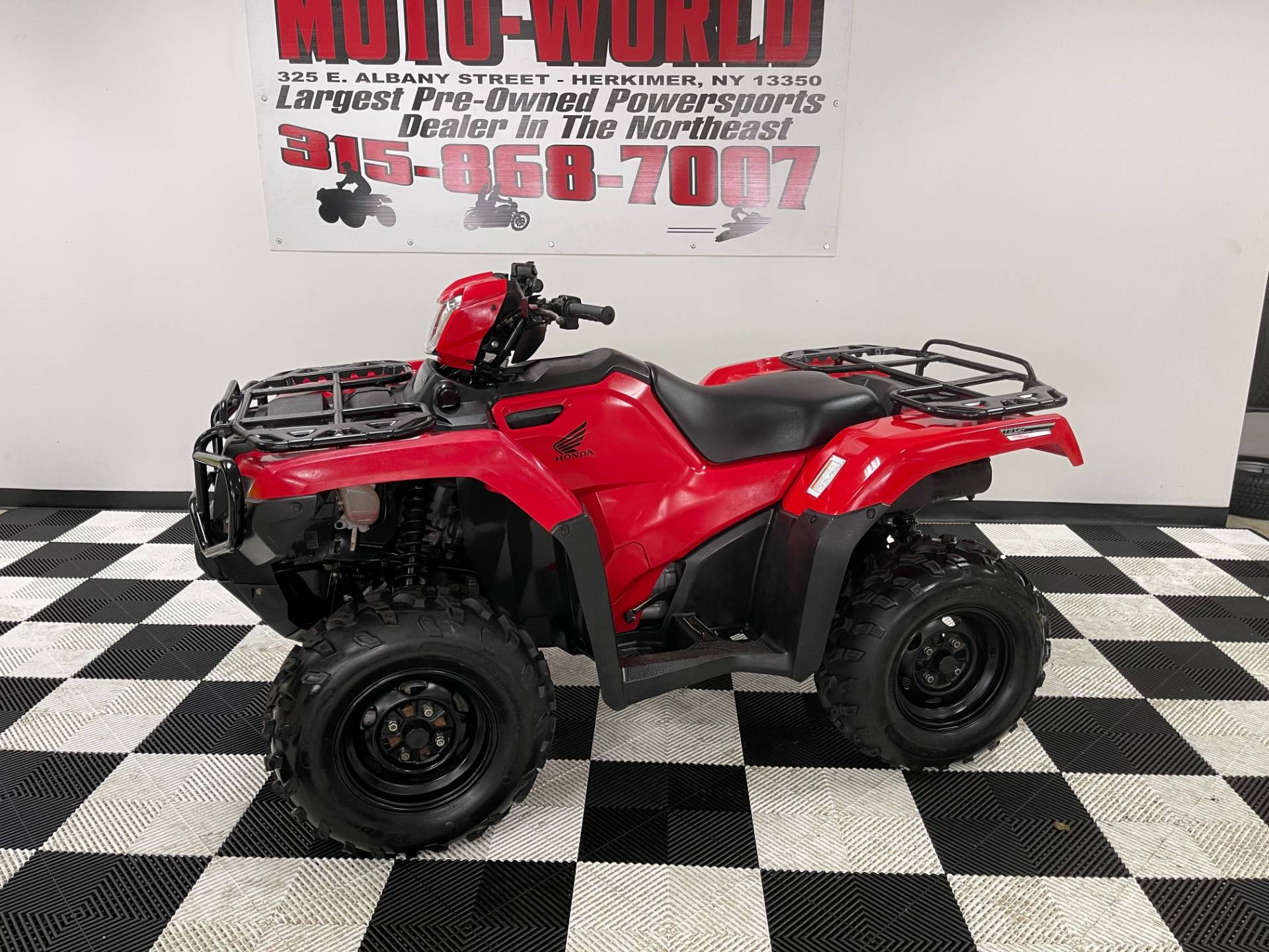2015 Honda FourTrax® Foreman® Rubicon® 4x4 EPS in Herkimer, New York - Photo 11