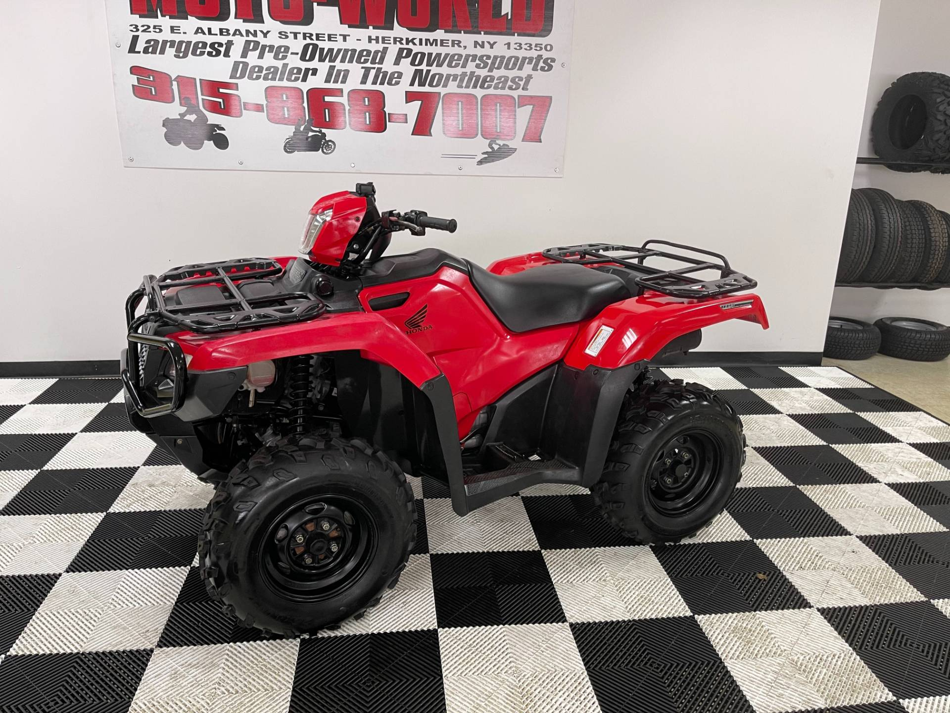 2015 Honda FourTrax® Foreman® Rubicon® 4x4 EPS in Herkimer, New York - Photo 12