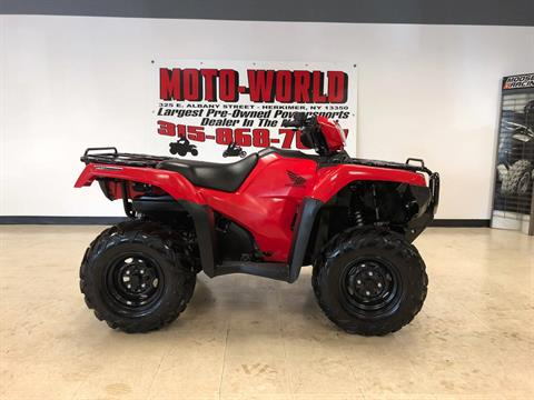 2017 Honda FourTrax Foreman Rubicon 4x4 DCT in Herkimer, New York