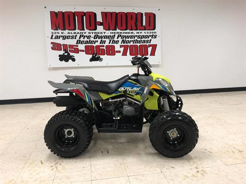 2017 Polaris Outlaw 110 in Herkimer, New York