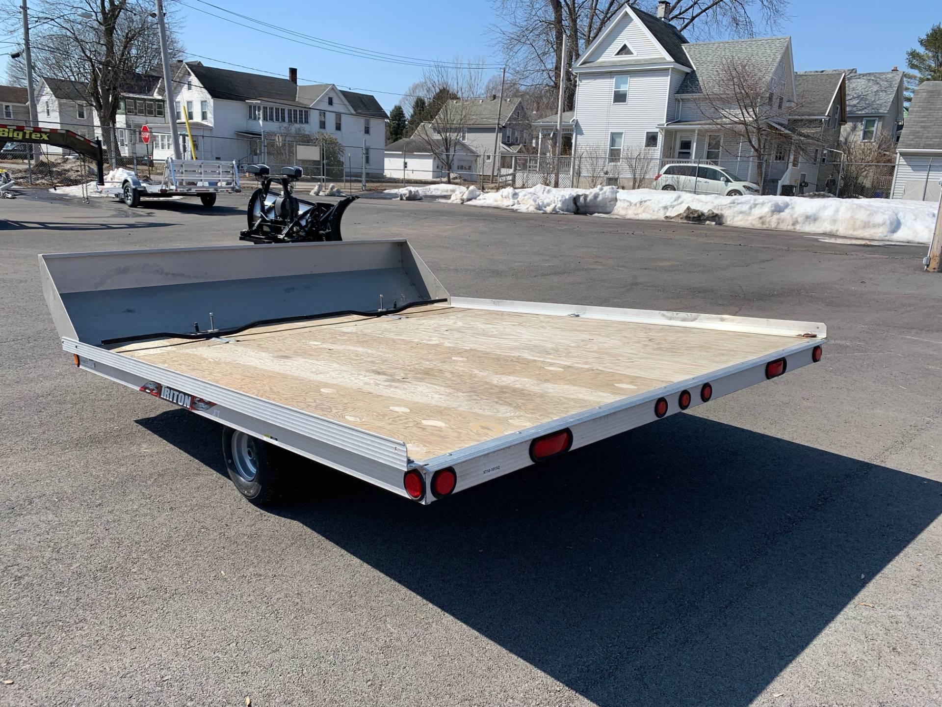 used 2017 triton trailers xt10-101 sport utility trailers in     triton  atv triton atv trailer wiring diagram