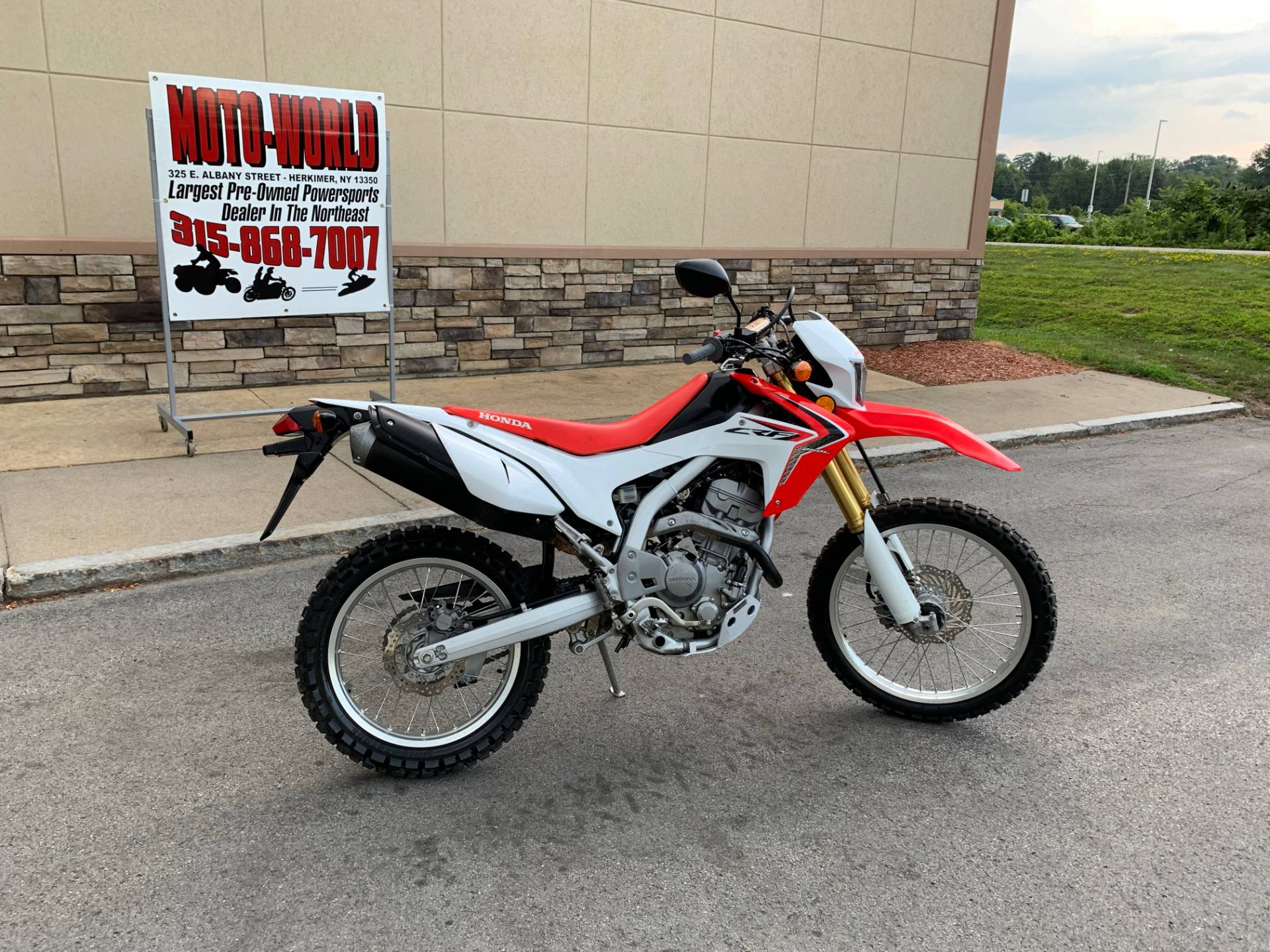 2014 Honda CRF®250L in Herkimer, New York - Photo 3