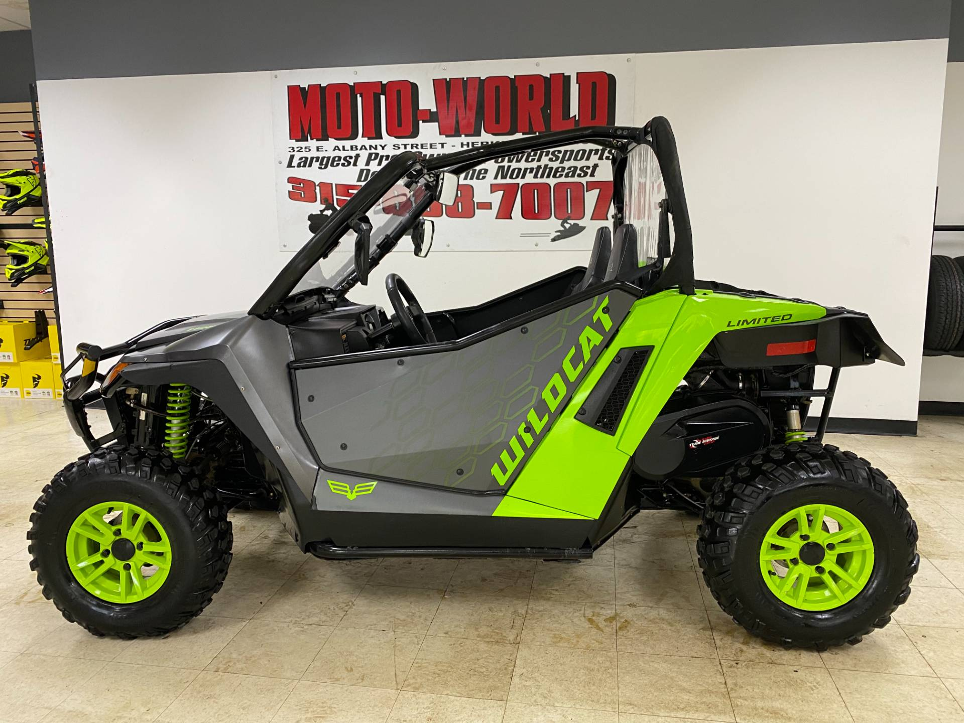 2018 Textron Off Road Wildcat Trail LTD in Herkimer, New York - Photo 2