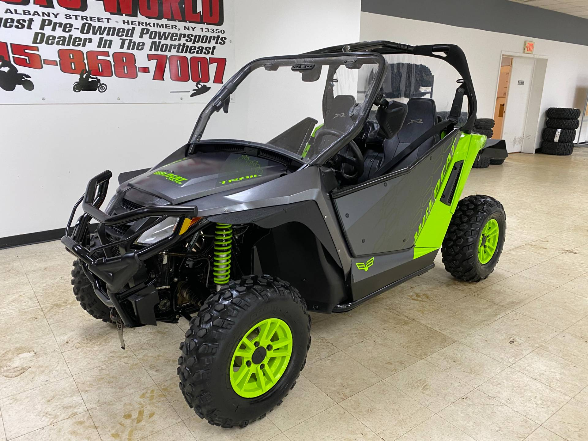2018 Textron Off Road Wildcat Trail LTD in Herkimer, New York - Photo 3