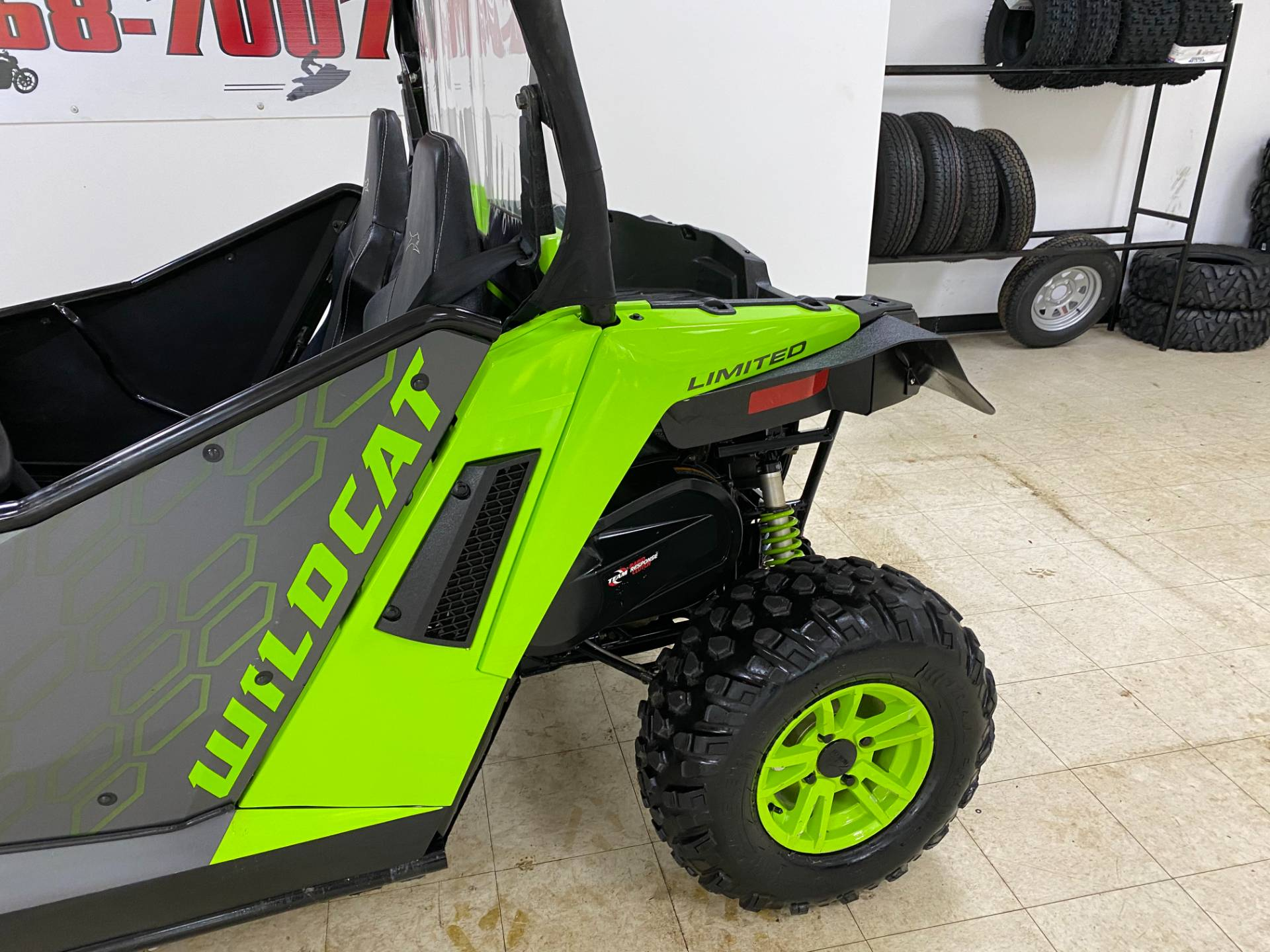 2018 Textron Off Road Wildcat Trail LTD in Herkimer, New York - Photo 16