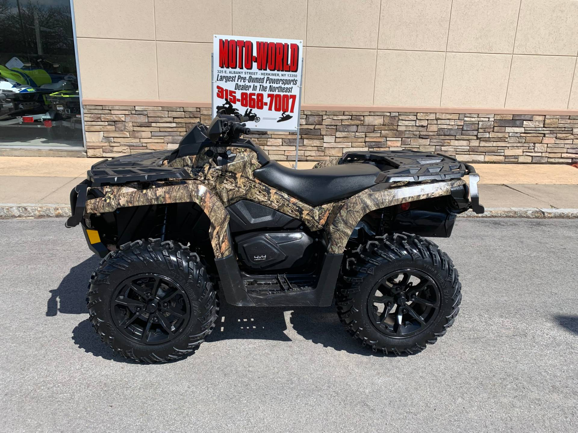 2018 Can-Am Outlander XT 850 in Herkimer, New York - Photo 1