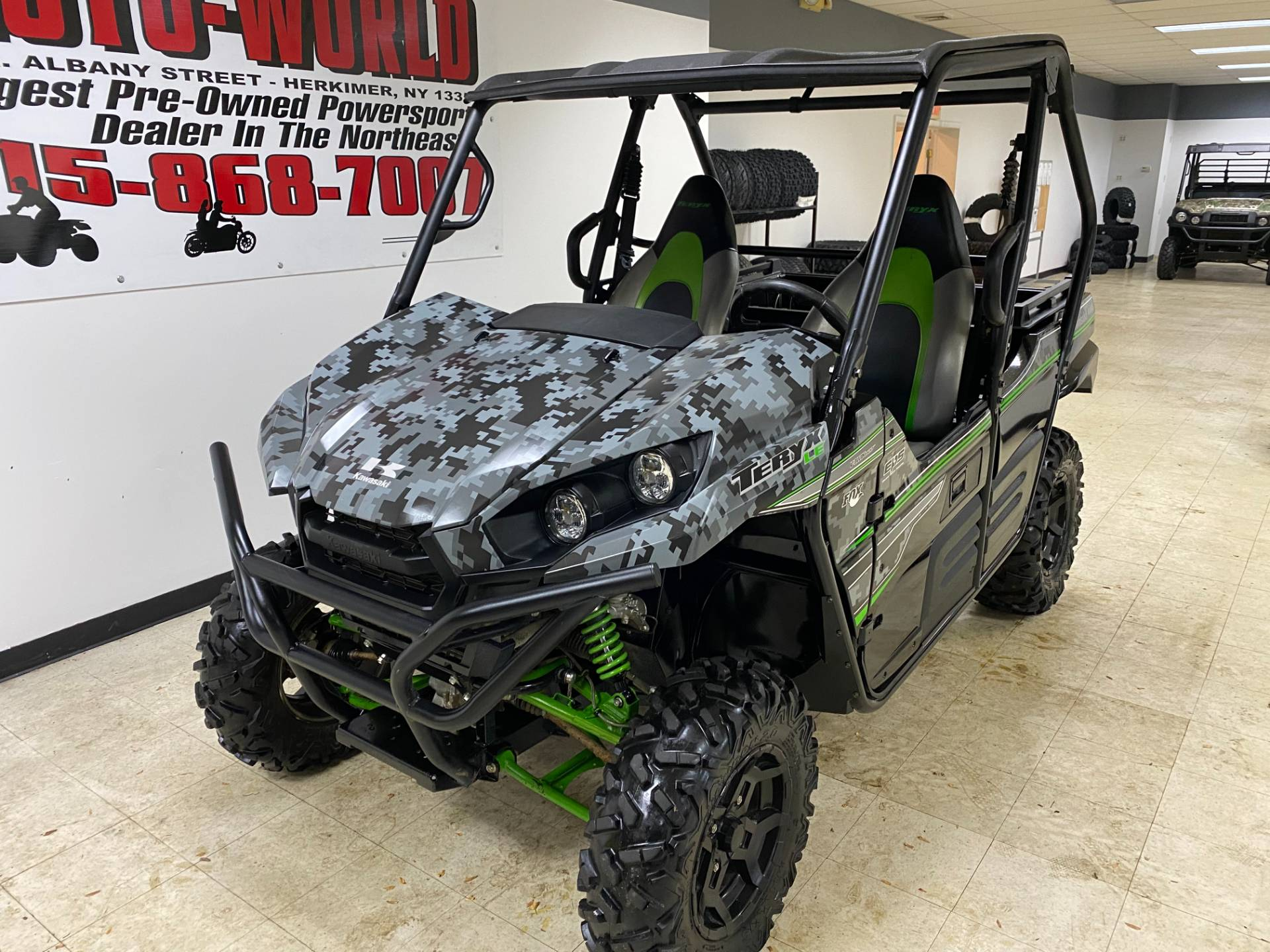 2018 Kawasaki Teryx LE Camo in Herkimer, New York - Photo 5