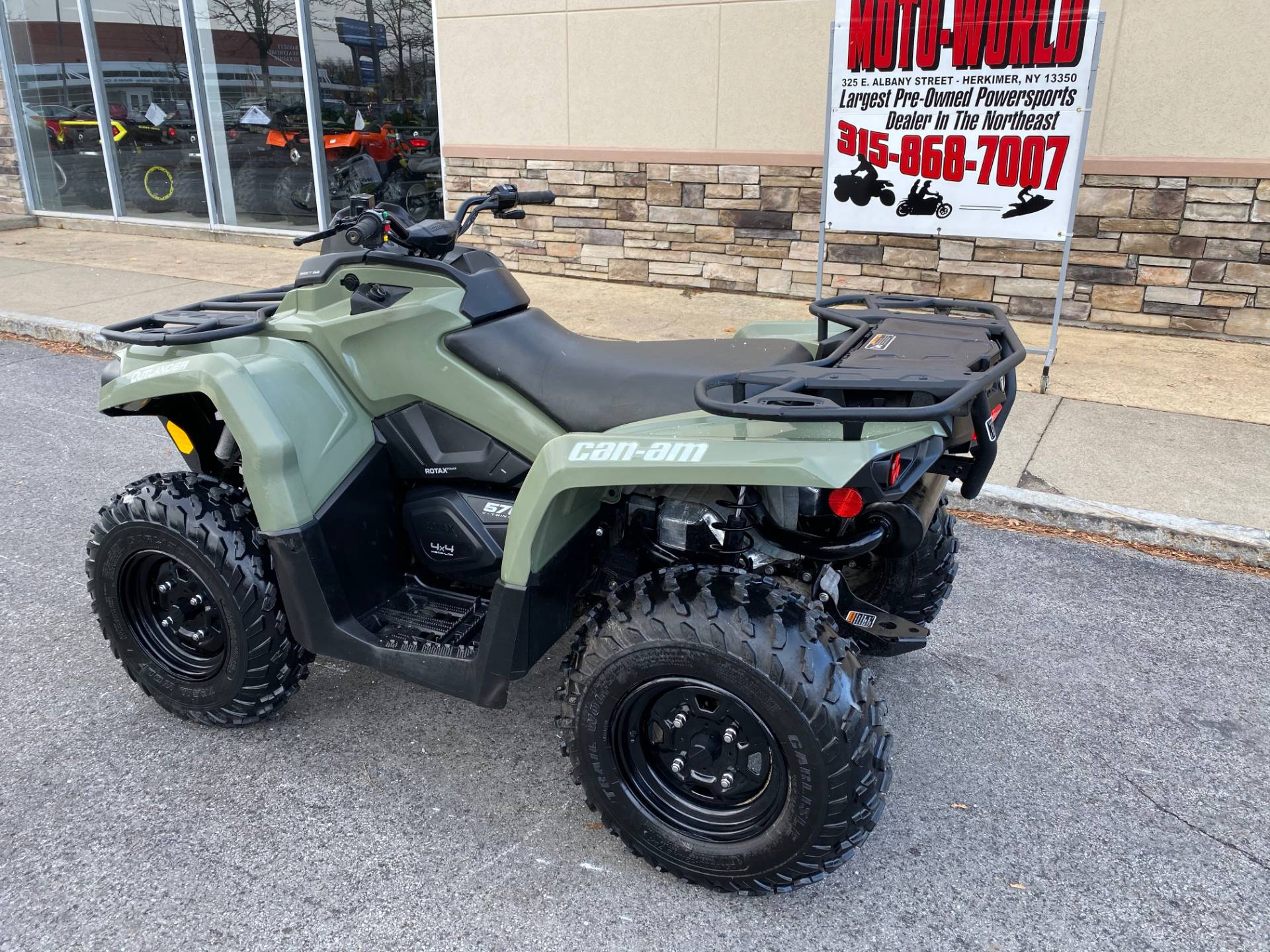2017 Can-Am Outlander 570 in Herkimer, New York - Photo 3