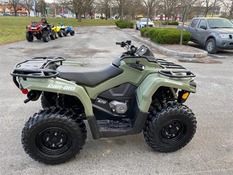 2017 Can-Am Outlander 570 in Herkimer, New York - Photo 6