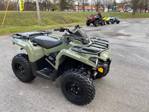 2017 Can-Am Outlander 570 in Herkimer, New York - Photo 7