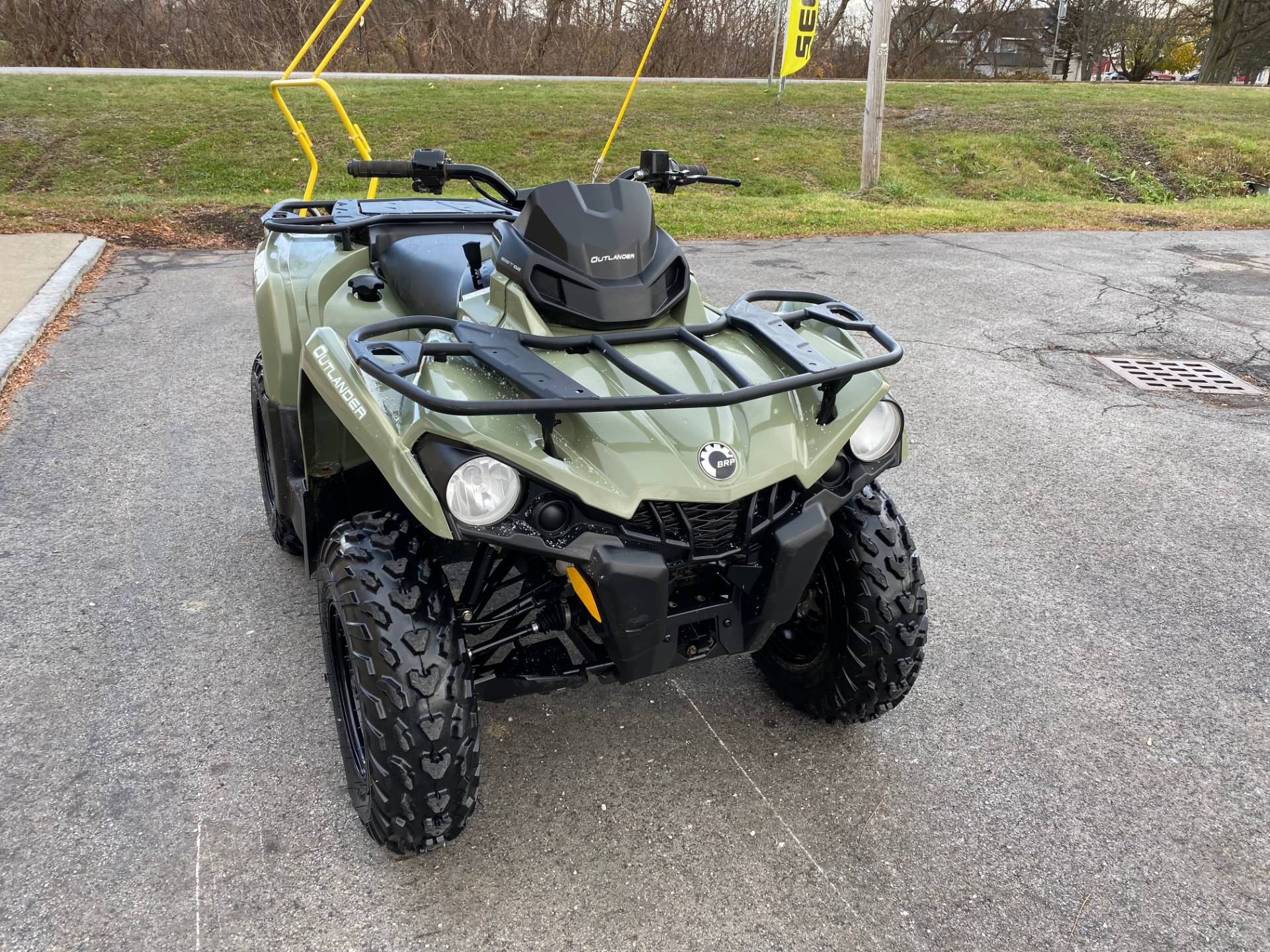 2017 Can-Am Outlander 570 in Herkimer, New York - Photo 8