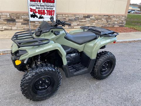 2017 Can-Am Outlander 570 in Herkimer, New York - Photo 11