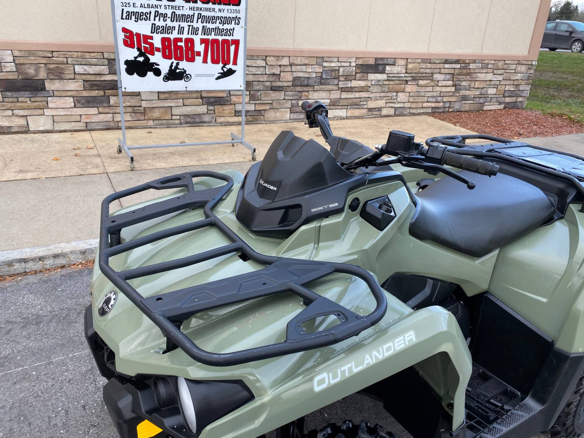 2017 Can-Am Outlander 570 in Herkimer, New York - Photo 16