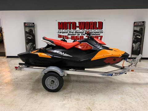 2018 Sea-Doo Spark 3up Trixx iBR in Herkimer, New York