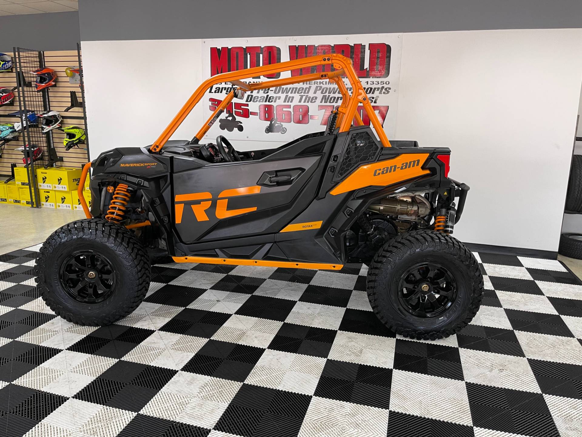 2020 Can-Am Maverick Sport X RC 1000R in Herkimer, New York - Photo 2