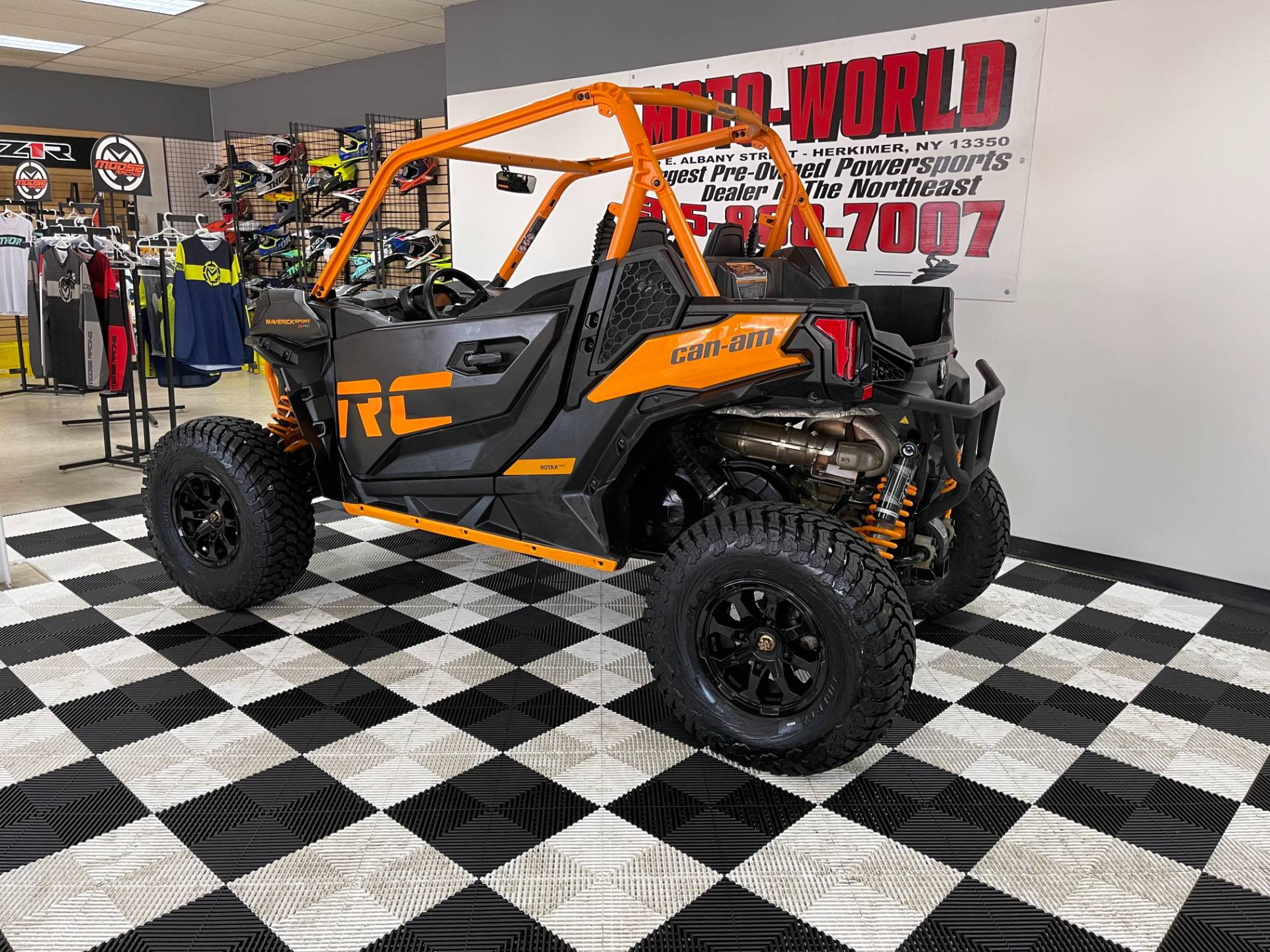 2020 Can-Am Maverick Sport X RC 1000R in Herkimer, New York - Photo 5