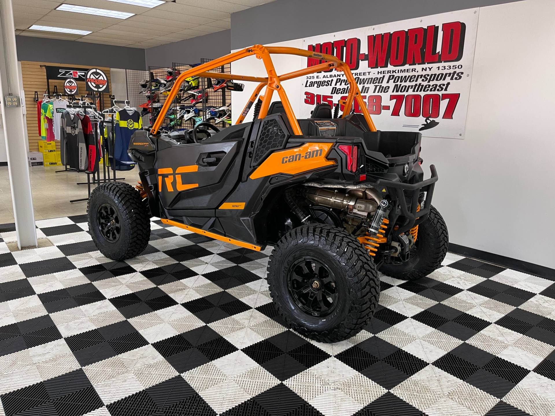 2020 Can-Am Maverick Sport X RC 1000R in Herkimer, New York - Photo 6