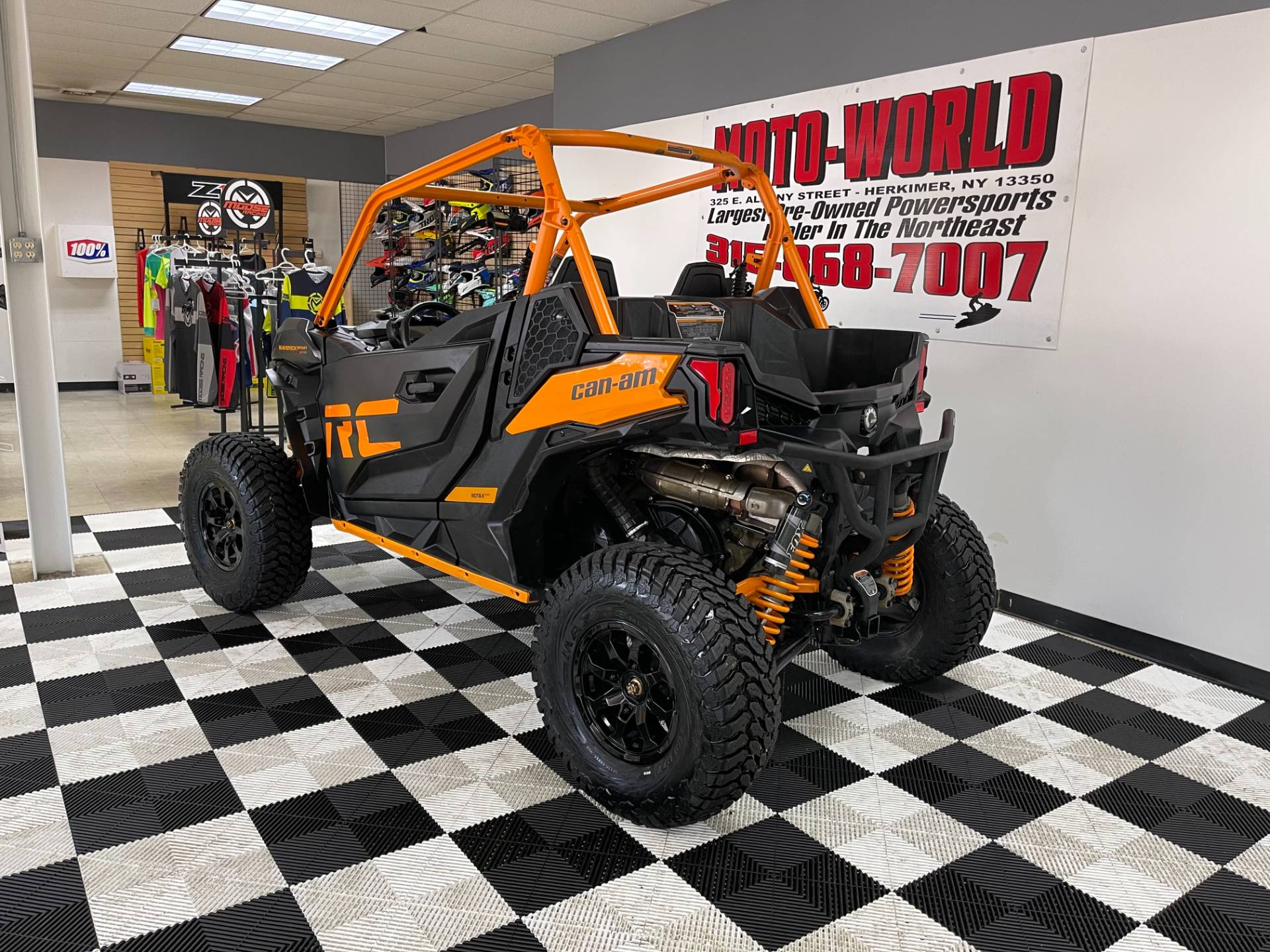 2020 Can-Am Maverick Sport X RC 1000R in Herkimer, New York - Photo 7