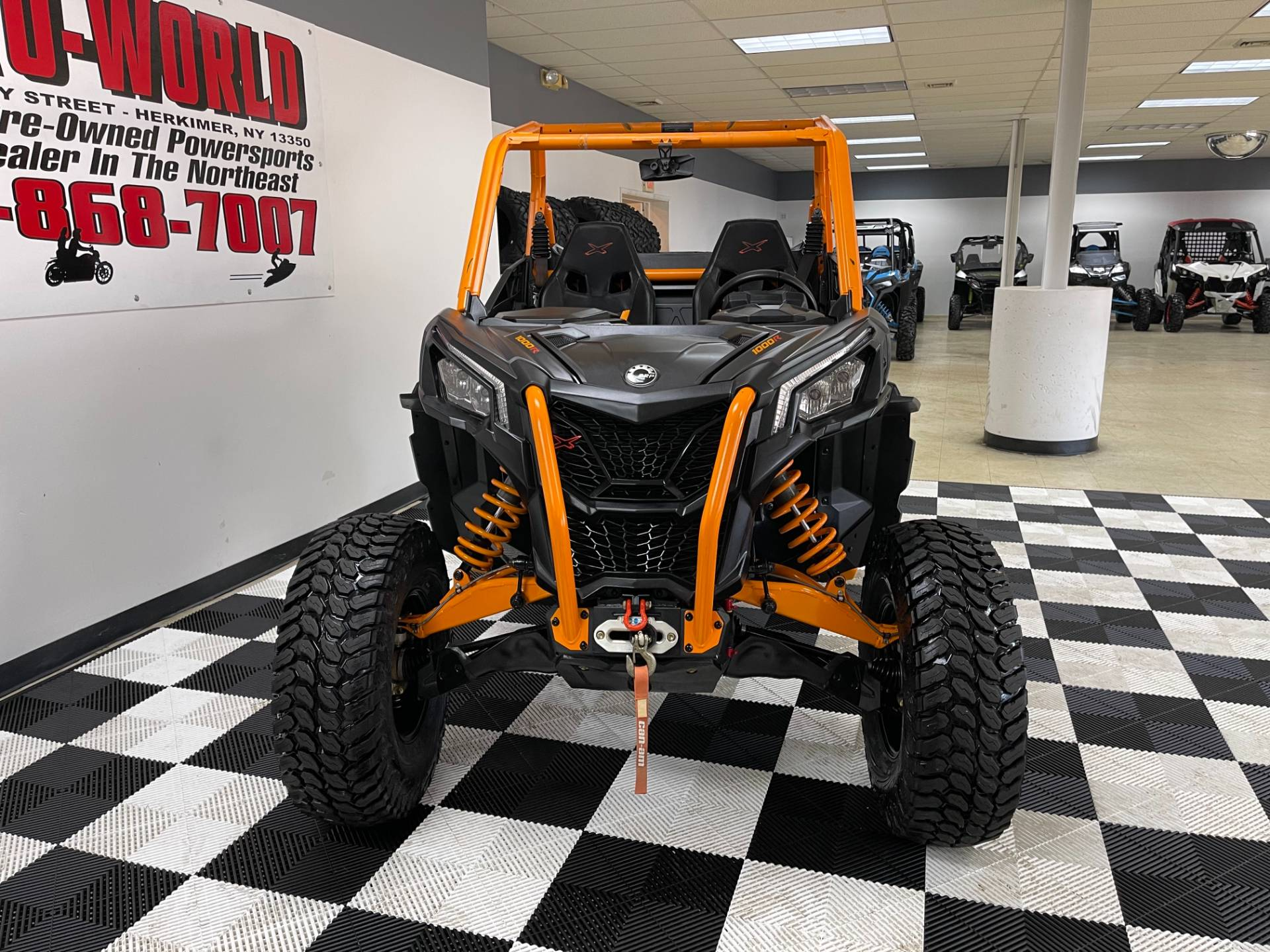 2020 Can-Am Maverick Sport X RC 1000R in Herkimer, New York - Photo 10