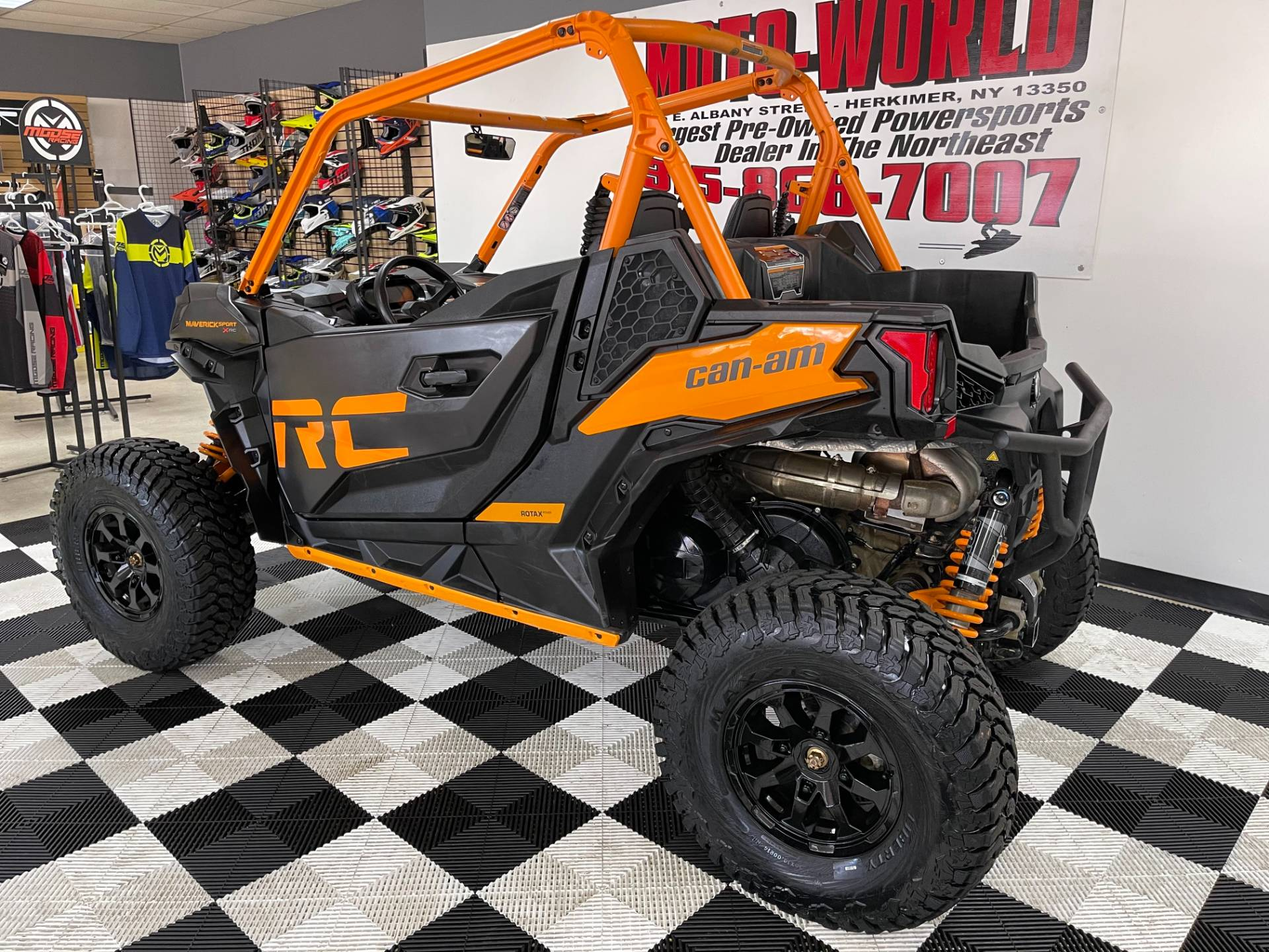 2020 Can-Am Maverick Sport X RC 1000R in Herkimer, New York - Photo 20