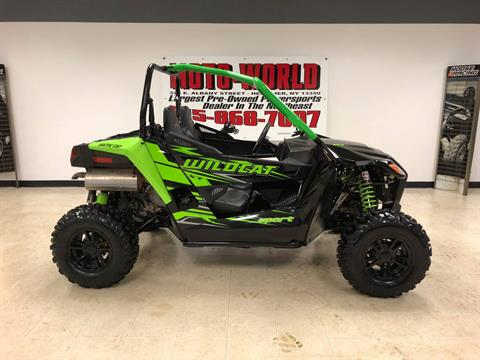2017 Arctic Cat Wildcat Sport XT EPS in Herkimer, New York