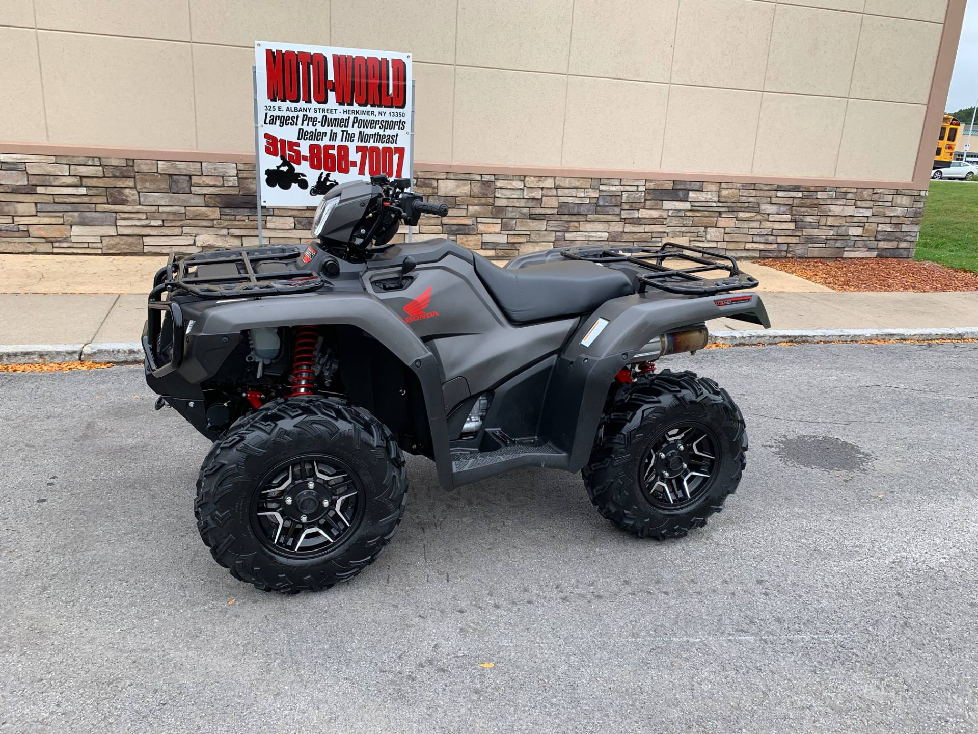 2018 Honda FourTrax Foreman Rubicon 4x4 Automatic DCT EPS Deluxe in Herkimer, New York - Photo 1