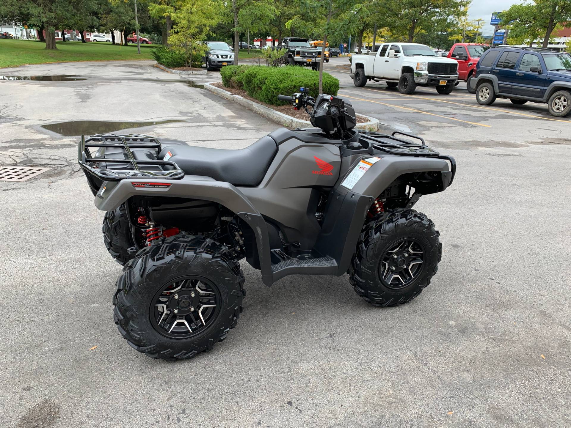 2018 Honda FourTrax Foreman Rubicon 4x4 Automatic DCT EPS Deluxe in Herkimer, New York - Photo 4