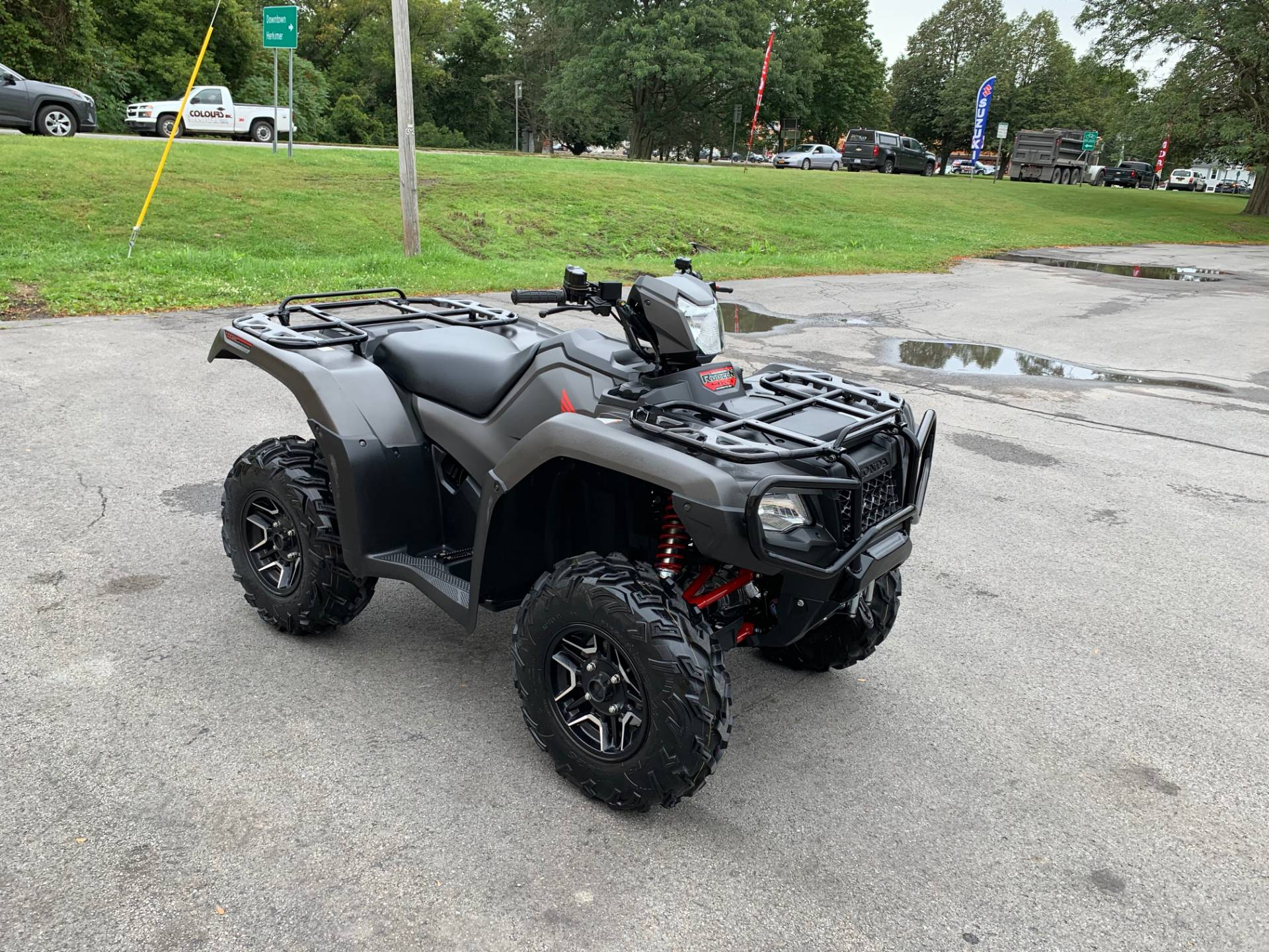 2018 Honda FourTrax Foreman Rubicon 4x4 Automatic DCT EPS Deluxe in Herkimer, New York - Photo 5