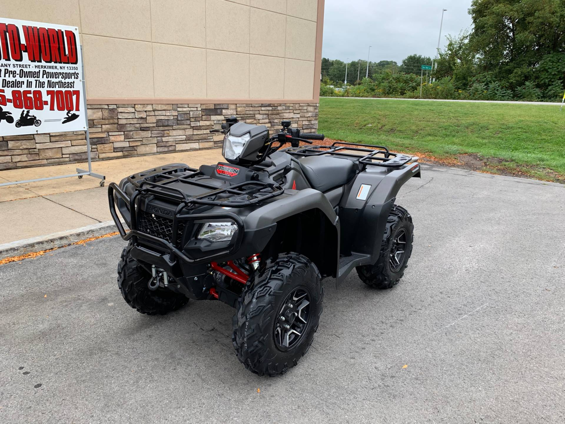 2018 Honda FourTrax Foreman Rubicon 4x4 Automatic DCT EPS Deluxe in Herkimer, New York - Photo 7