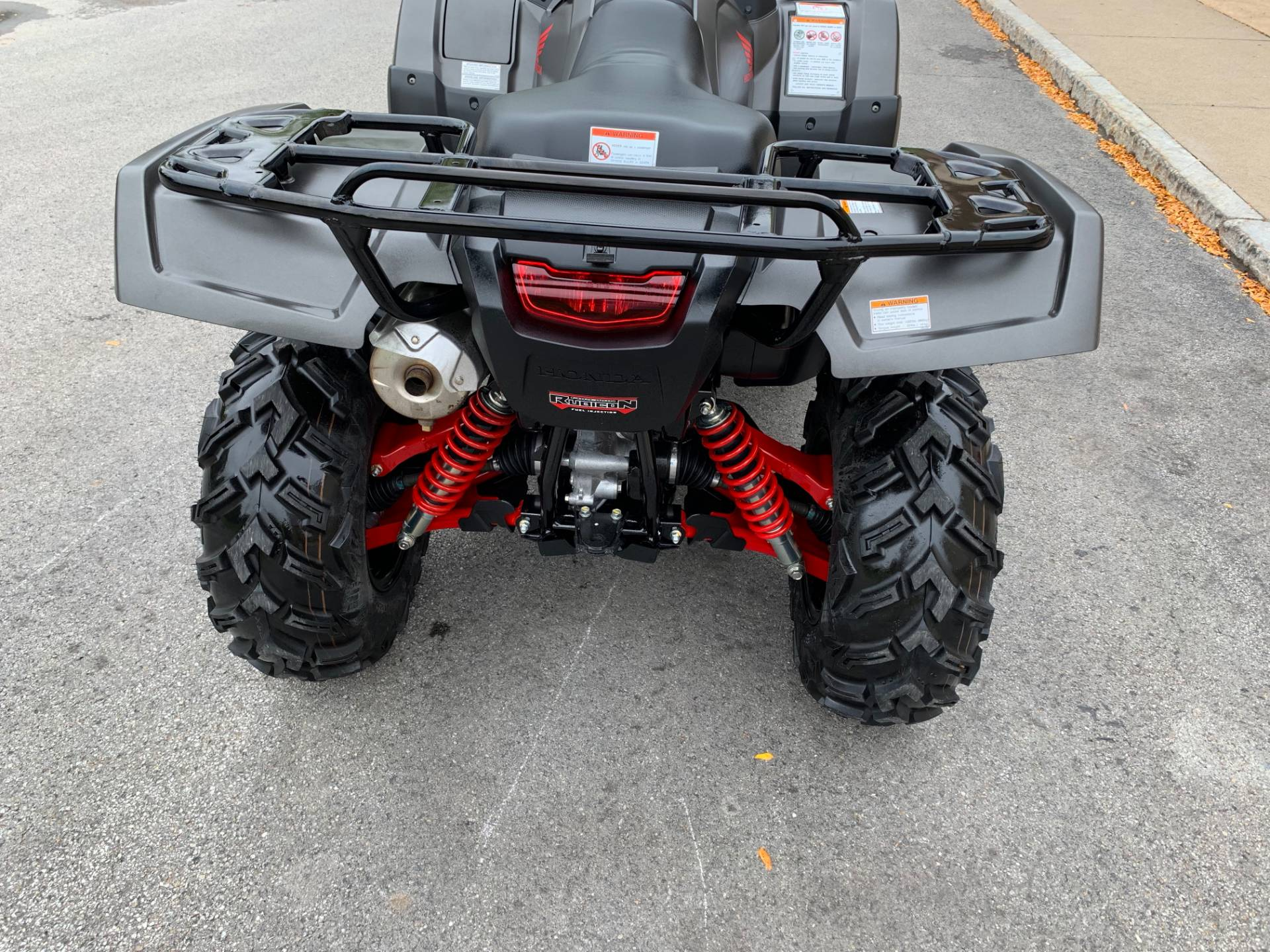 2018 Honda FourTrax Foreman Rubicon 4x4 Automatic DCT EPS Deluxe in Herkimer, New York - Photo 9
