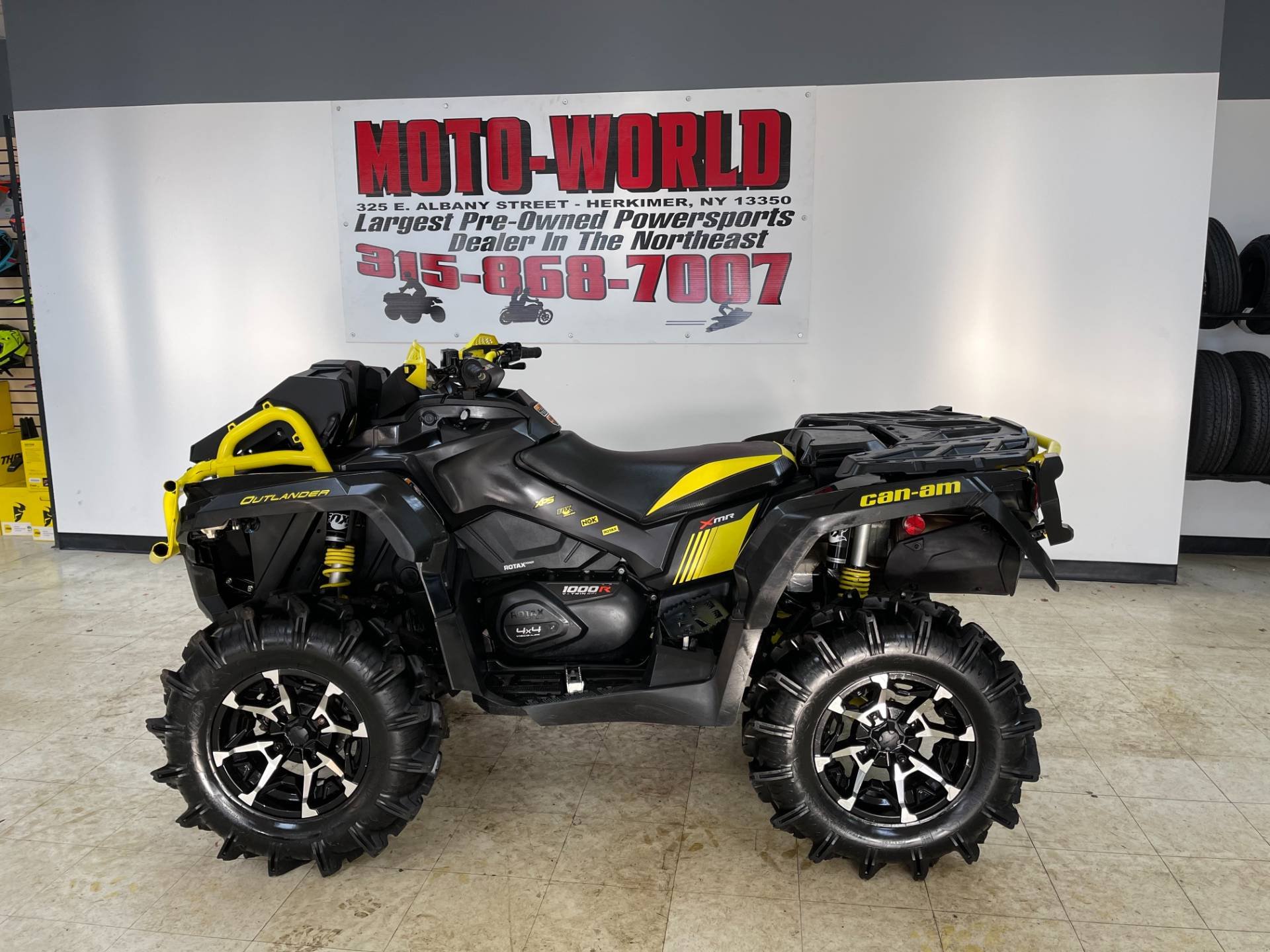 2018 Can-Am Outlander X mr 1000R in Herkimer, New York - Photo 1